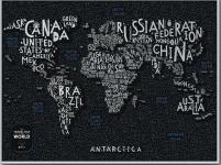 купить Скретч Карта Мира LETTERS World цена, отзывы