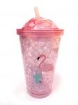 купить Термостакан Ice Cap Фламинго (Розовый) цена, отзывы