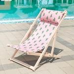 купить Шезлонг складной для пляжа и бассейна Кактусы цена, отзывы