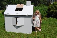 купить Картонный домик раскраска  цена, отзывы
