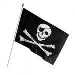 купить Пиратский Флаг средний 90х60 см цена, отзывы