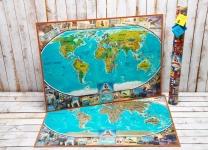 купить Скретч карта мира My Vintage Map цена, отзывы