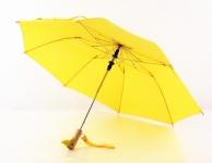 купить Зонт с деревянной ручкой голова утки (Желтый) цена, отзывы