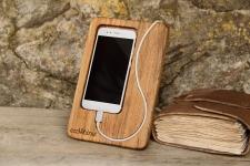 купить Деревянная подставка для телефона Snake цена, отзывы