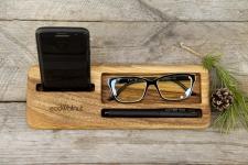 купить Подставка для телефона из дерева Бизнес цена, отзывы