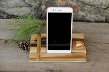 купить Подставка для телефона из дерева Прямоугольник цена, отзывы