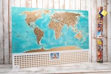 купить Скретч карта мира flags edition на русском языке цена, отзывы