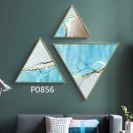 купить Модульная треугольная картина 3 в 1 Морской Бриз цена, отзывы
