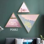 купить Модульная треугольная картина 3 в 1 Always bright side цена, отзывы