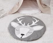 купить Одеяло коврик в детскую комнату Олененок цена, отзывы