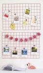 купить Настенный органайзер Мудборд (moodboard) доска визуализации и планирования, Прямоугольная 45*65 см, розовый цена, отзывы
