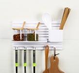 купить Мультифункциональный настенный органайзер для кухни,ванной,мелочей цена, отзывы