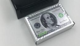 купить Карты игральные 100 долларов серебро цена, отзывы