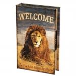купить Книги сейф Лев с кодовым замком 26 см цена, отзывы