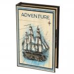 купить Книги сейф с кодовым замком Adventure 26 см цена, отзывы