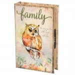 купить Книги сейф с кодовым замком Owl 26 см цена, отзывы
