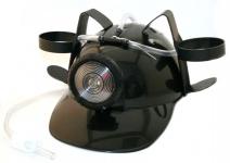 купить Шлем для пива МЧСника с фонарем Черный цена, отзывы
