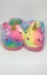 купить Детские домашние тапочки Единорог Радужный Бриз 19 см цена, отзывы