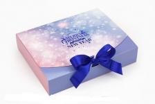 купить Подарочная коробка Рождество 25х20х5 см цена, отзывы