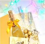 купить Подарочный набор Золото в бокале цена, отзывы
