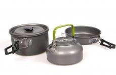 купить Набор посуды походный Cooking Set DS-308 цена, отзывы