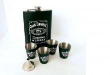 купить Подарочный набор Фляга Jack Daniсes Black цена, отзывы