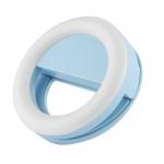 купить Подсветка кольцо для селфи blue цена, отзывы