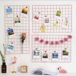 купить Настенный органайзер Мудборд (moodboard) доска визуализации и планирования, Прямоугольная 30*60 см, (Розовый) цена, отзывы