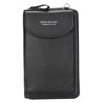 купить Кошелёк женский, мини-сумочка на плечо Baellerry 3 в 1 (черный) цена, отзывы