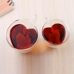 купить Чашка для кофе с двойным дном Сердце цена, отзывы