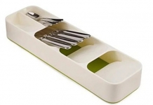 купить Органайзер для столовых приборов (белый) цена, отзывы