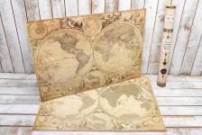купить Скретч карта Мира My Maps Special на Английском в тубусе  цена, отзывы