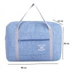 купить Складная дорожная сумка (синий) цена, отзывы