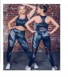 купить Женский спортивный комплект лосины и топ  цена, отзывы