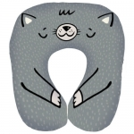 купить Подушка для путешествий дорожная Котик цена, отзывы