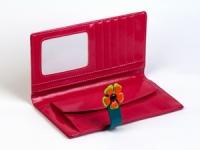 фото 8774  Женский кошелек Венок Розовый цена, отзывы