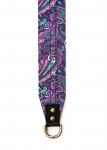 фото 6224  Дизайнерский ремень для фотоаппарата фиолетовые огурцы цена, отзывы