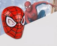 фото 25297  Маска пластиковая с подсветкой человек паук Spiderman цена, отзывы