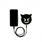 фото 23104  Портативная батарея Дьявол (Черный) цена, отзывы