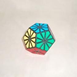 купить Кубик рубика Пираминкс Кристалл (Ромашка) цена, отзывы