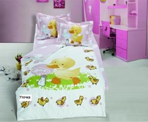 купить Набор постельного белья для новорожденных Arya Утенок цена, отзывы