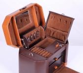 фото 6880  Шкатулка для украшений коричневая изящная цена, отзывы