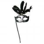 фото 9626  Венецианская маска Незнакомка на ручке цена, отзывы