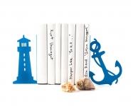 фото 10089  Держатель для книг Маяк и якорь синий цена, отзывы