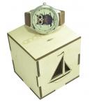 фото 4502  Часы наручные Сова из кофе цена, отзывы