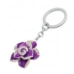 фото 10369  Подарочный набор ручка и брелок Сапфо фиолетовый цена, отзывы