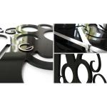 фото 5662  Дизайнерские настенные часы Figures цена, отзывы