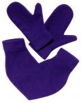 фото 5905  Варежки для влюбленных фиолетовые цена, отзывы