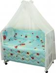 фото 9301  Комплект в детскую кроватку Веселка цена, отзывы