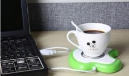 купить USB-подставка с подогревом для чашки в форме яблока цена, отзывы
